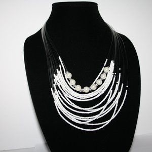 """Vintagejelyfish Jewelry - White beaded layered pearl necklace 22"""""""